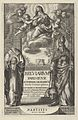 """Frontispiece from """"Breviarium Parisiense Ac Forman Sacro Sancti Concilij Tridentini restitutum Illvstrissimi et Reverendissimi in Christo Partis D. Joannes Francisci de Gondy...auctoritate... MET DP836284.jpg"""
