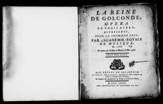 <i>Aline, reine de Golconde</i> opera