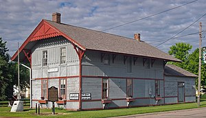 National Register of Historic Places listings in Murray County, Minnesota - Image: Fulda Depot