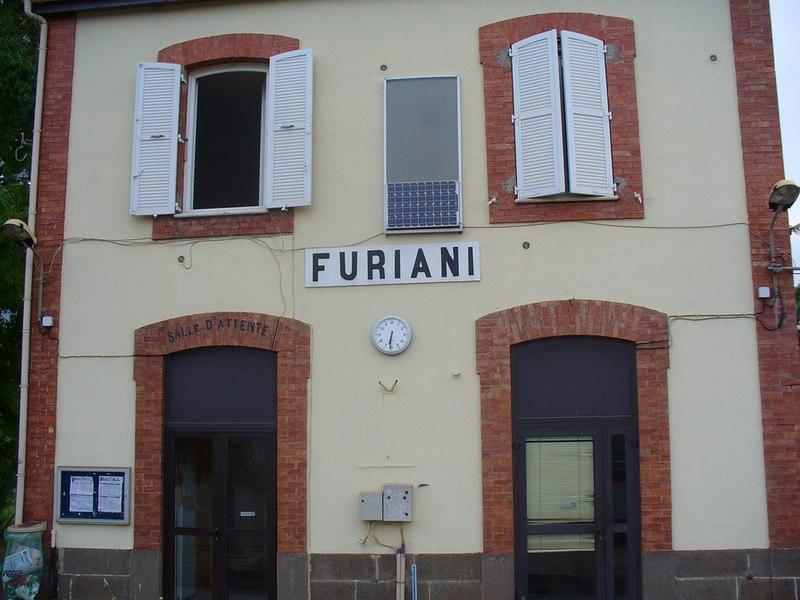 Furiani train station