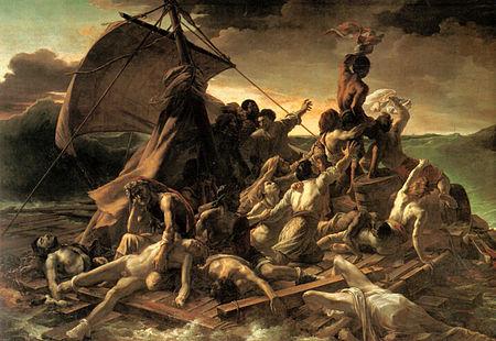 painting of Raft of Medusa