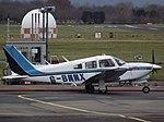 G-BNNX Piper Turbo Cherokee Arrow III (31023064890).jpg
