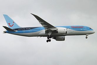 TUI Airways - TUI Airways Boeing 787-8 wearing the former 'Thomson' titles