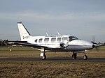 G-VIPX Piper Navajo Chieftan 31 Capital Air Ambulance Ltd (31852077092).jpg
