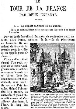 Image illustrative de l'article Le Tour de la France par deux enfants