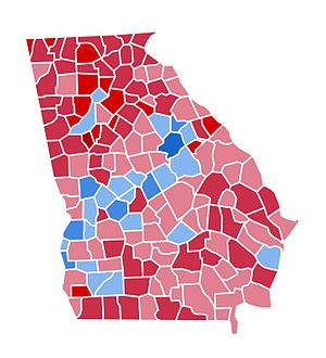 United States presidential election in Georgia, 1984 - Image: GA1984