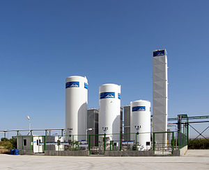 The Linde Group - Linde Gas gaseus nitrogen plant.