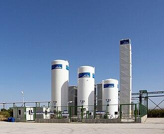 The Linde Group - Linde Gas gaseus nitrogen plant.