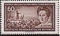 GDR-stamp Arbeiterbewegung 60 1955 Mi. 478.JPG