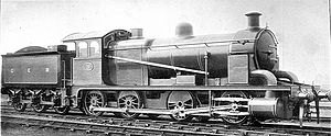 GER Class A55 - As rebuilt to an 0-8-0