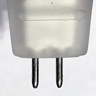 Bi-pin lamp base - G5.3 bi-pin connector
