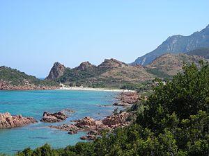 Gairo, Sardinia - Su Sirboni beach.