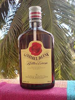Gammel Dansk Danish herbal bitters liquor