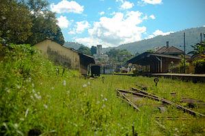 Gampola - Image: Gampola rail tracks