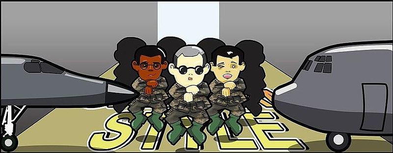 Gangnam Style comic parody.jpg