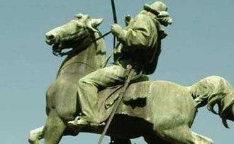 Monument to Giuseppe Garibaldi - Image: Garibaldibuenosaires