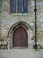 Garstang Parish Church of St Helen, Churchtown, Doorway - geograph.org.uk - 1000968.jpg