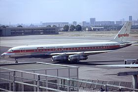 Garuda Indonesian Airways Douglas DC-8-55 Gilliand.jpg