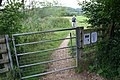 Gate in the path - geograph.org.uk - 1451914.jpg