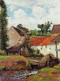 Gauguin 1883 La ferme au lavoir, Osny.jpg