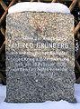 Gedenkstein Grünbergallee 128 (Altgli) Alfred Grünberg.JPG