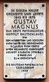 Gedenktafel Am Kupfergraben 7 (Mitte) Gustav Magnus.jpg