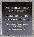 Gedenktafel Axel-Springer-Str 65 (Kreuz) Ronald Reagan.jpg