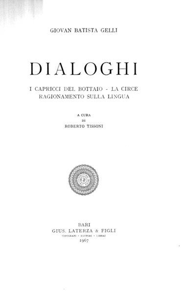 File:Gelli, Giovan Battista – Dialoghi, 1967 – BEIC 1826503.pdf