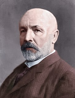 Georg Cantor 19th and 20th-century German mathematician