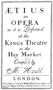 Georg Friedrich Händel - Ezio - titlepage of the score - London 1732.jpg