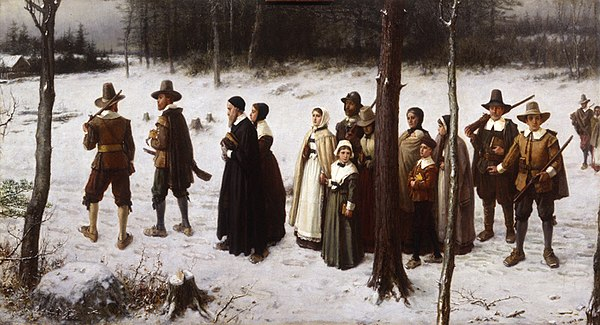 Pilgrims Going to Church by George Henry Boughton (1867) George-Henry-Boughton-Pilgrims-Going-To-Church.jpg