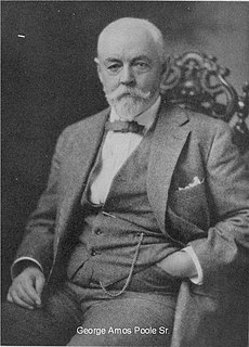 George Amos Poole, I American printer and publisher