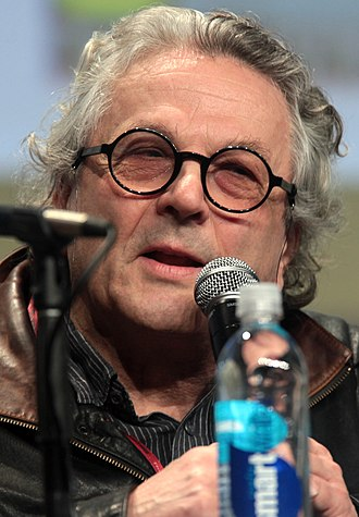 Mad Max: Fury Road - Director George Miller (pictured in 2014) announced in 2003 that a script had been written for a fourth film, and that pre-production was in the early stages.