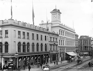 Limerick - Cannock's Department Store on O'Connell Street in the early 20th Century