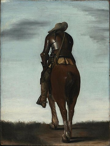 Gerard ter Borch - Man on Horseback
