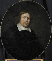 Portrait of Gerard van Bergen, Director of the Rotterdam Chamber of the Dutch East India Company, elected 1653