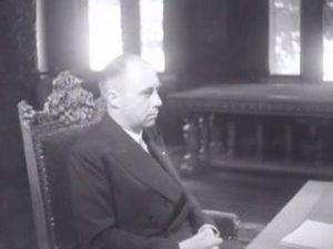 Gerardus Huysmans - Huysmans in 1946