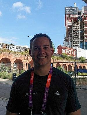 Gerhard Mayer - Gerhard Mayer at The London 2012 Summer Olympic Games