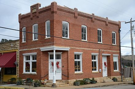 Built in 1905, the Altus Heritage House Museum resides in the restored German-American Bank in downtown Altus German-American Bank.JPG