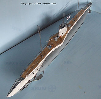 German Type UB III submarine - Image: German Type UB III submarine model 1