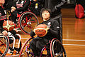 Germany vs Japan women's wheelchair basketball team at the Sports Centre (IMG 3272).jpg