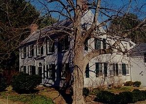 Capt. Gershom Bradford House - Image: Gershom Bradford House