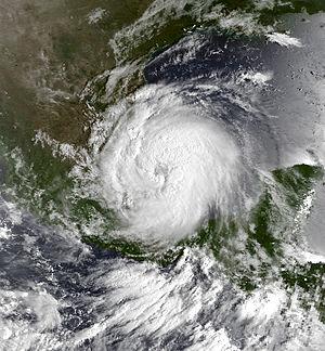 Hurricane Gert - Image: Gert 20 September 1993