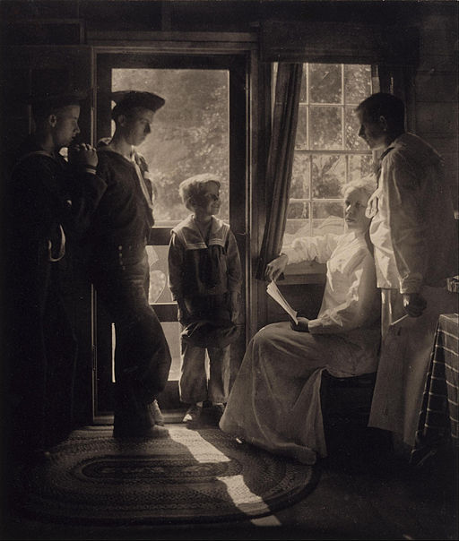 Gertrude Käsebier - Sunshine in the House - Google Art Project