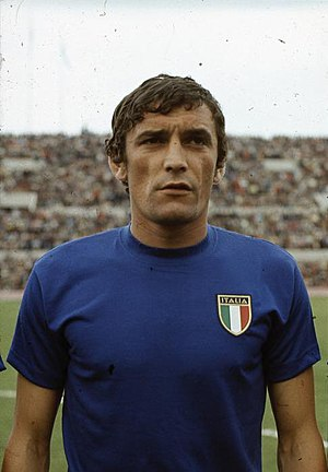 Luigi Riva - Riva with Italy in 1968