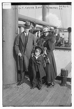 Gilbert Thomas Carter - Gilbert Thomas Carter, Gertrude Codman Parker and John Codman Carter, 1916