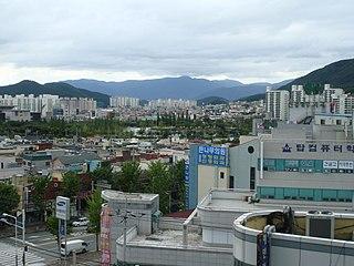Gimhae Specific city in Yeongnam, South Korea