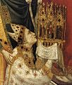 Giotto di Bondone - The Stefaneschi Triptych - St Peter Enthroned (detail) - WGA09356.jpg