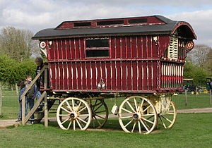 Wagon - A Romani Vardo from England.