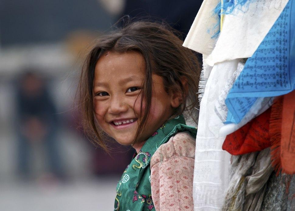 Girl of Tibet